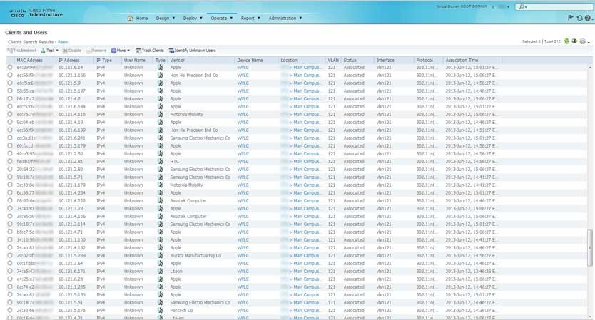 MAC Address Lookup - Updated Cisco VendorMACs xml for PI and WLC